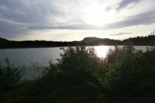 Sol over Karatssjön