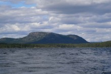 Fjeldet Jarre set fra Karatssjön