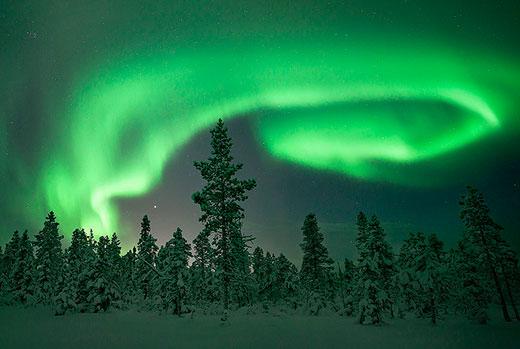 Kiruna-nordlys
